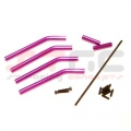 Wheely King Extended Wheelbase Rock Crawling Kit (Purple)