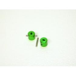 Wheely King/Axial Scorpion Crawler Diff Lockers (1 pair) Green