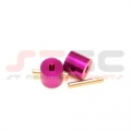 Wheely King/Axial Scorpion Crawler Diff Lockers (1 pair) Purple