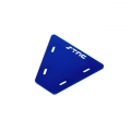 STRC CNC Machined Alum. electronics mounting plate for AX10 (Blue)