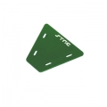 STRC CNC Machined Alum. electronics mounting plate for AX10 (Green)
