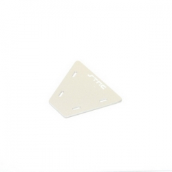 STRC CNC Machined Alum. electronics mounting plate for AX10 (Silver)