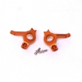 Precision CNC Machined Aluminum Steering Knuckles for Axial AX10 (Orange)