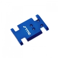 CNC Machined Aluminum Center Transmission Mounting Plate for Axial AX10 (Blue)