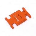 CNC Machined Aluminum Center Transmission Mounting Plate for Axial AX10 (Orange)
