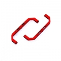 CNC Machined Aluminum Lateral Chassis Braces for Axial AX10 (Red)