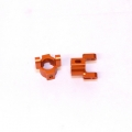 Precision CNC Machined Aluminum Hub Carriers for Axial Scorpion (Orange)