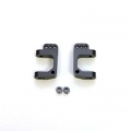 CNC Machined Precision Alum. Caster Blocks for SC10/T4/B4 (Gun Metal, limited) 1 pair