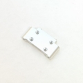 CNC Machined Precision Alum. Front Bulkhead for SC10/T4/B4 (Silver)