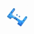 CNC Machined Precision Alum. Rear Brace for SC10/T4/B4 (Blue)