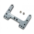 CNC Machined Precision Alum. Rear Brace for SC10/T4/B4 (Gun metal) 