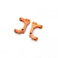 CNC Machined Aluminum Precision Caster Blocks (1 pair) for Blitz, E-Firestorm (Orange)
