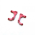 CNC Machined Aluminum Precision Caster Blocks (1 pair) for Blitz, E-Firestorm (Red, Web only limited edition)