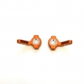 STRC CNC Machined Aluminum Precision In-line Steering Knuckle Blocks (1 pair) for Blitz, E-Firestorm (Orange)