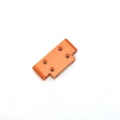 CNC Machined Aluminum HD Front Bulkhead for Blitz, E-Firestorm (Orange)