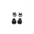 CNC Machined Aluminum HD Upper Shock Caps (4 pcs) for Blitz, E-Firestorm (GM)