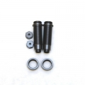 CNC Machined Threaded Aluminum Rear Shock Set 1 pair (w/lower caps, O-Ring Collars) for Blitz, E-Firestorm. (GM)
