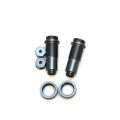 CNC Machined Threaded Aluminum Front Shock Set 1 pair (w/lower caps, O-Ring Collars) for Blitz, E-Firestorm. (GM)