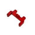 CNC Machined Alum. Rear Camber Link Plate for HPI Blitz, (Red, web only limited edition)
