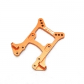 CNC Machined Alum. HD Front Shock Tower for HPI Blitz, E-Firestorm (Orange)