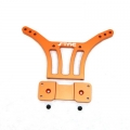CNC Machined Alum. HD Rear Shock Tower for HPI Blitz, E-Firestorm (Orange)