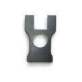 STRC CNC Machined Aluminum Center Bulkhead for Jammin SCRT10 (Gun Metal)