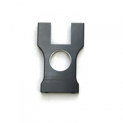 STRC CNC Machined Aluminum Center Bulkhead for Jammin SCRT10 (Gun Metal)