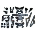 ST Racing Concepts Jammin SCRT10 Limited Edition Black Anodized parts complete set (Limited)