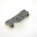 STRC CNC Machined Aluminum Front Steering Upper Plate (Gun Metal)