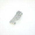 STRC CNC Machined Aluminum Front Steering Upper Plate (Silver, limited edition)