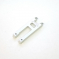 STRC CNC Machined Aluminum Front Chassis H Brace (Silver, limited edition) 