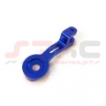 CNC Machined Aluminum Single Steering Servo Saver Arm (Blue)