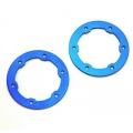 CNC Machined Aluminum LW Beadlock Rings for Proline Slash/Slayer Epic/split six Rims (1 pair) Royal Blue