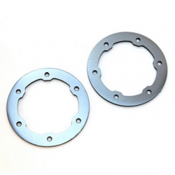 CNC Machined Aluminum LW Beadlock Rings for Proline Slash/Slayer Epic/Split Six Rims (1 pair) Gun Metal