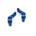 STRC CNC Precision Machined Aluminum 0.5 deg. toe-in rear hub carriers for Slash 4x4 (1 pair) Blue