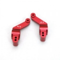 STRC CNC Precision Machined Aluminum 0.5 deg. toe-in rear hub carriers for Slash 4x4 (1 pair) Red