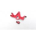 STRC CNC Machined Aluminum HD Motor Mount for Slash 4x4 (Red)