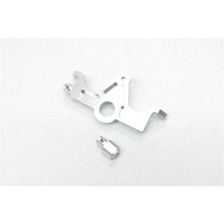 STRC CNC Machined Aluminum HD Motor Mount for Slash 4x4 (Silver)