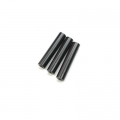 CNC Machined Aluminum Chassis Posts (3) black for STRC Slash 4x4 LCG