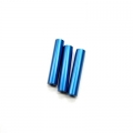 CNC Machined Aluminum Chassis Posts (3) blue for STRC Slash 4x4 LCG