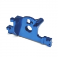STRC CNC Machined Aluminum Motor Mount for Traxxas LCG Slash 4x4, Rally (Blue)