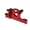 STRC CNC Machined Aluminum Motor Mount for Traxxas LCG Slash 4x4, Rally (Red)