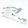 STRC CNC Machined Aluminum Motor Mount for Traxxas LCG Slash 4x4, Rally (Silver)