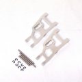 STRC Aluminum Front A-arm set for Traxxas Slash/Stampede/Rustler (1 pair) Silver