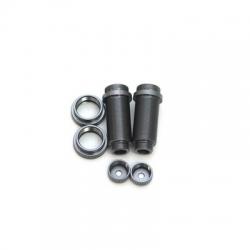 STRC CNC Machined Threaded Aluminum Front Shock Body Set 1 pair Slash 4x4 & Slash 2WD  (Gun Metal)