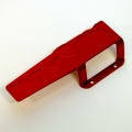 CNC Machined Aluminum Transmission/center Skid Plate (Red)