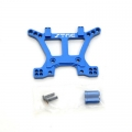 STRC CNC Machined Aluminum HD Front Shock Tower (Blue) for Slash 4x4