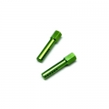 STRC CNC Aluminum Front Body Posts for Traxxas Slash/Rustler (Green)