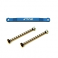 CNC Machined Alum. Front Hinge-pin brace kit (w/heat treated hinge-pins) for Stampede/Bigfoot/Rustler/Bandit/Slash 2wd (B)