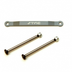 CNC Machined Alum. Front Hinge-pin brace kit (w/heat treated hinge-pins) for Stampede/Bigfoot/Rustler/Bandit/Slash 2wd (GM)